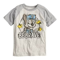 Boys 4-10 Jumping Beans® Paw Patrol Chase 'Be Brave' Raglan Graphic Tee