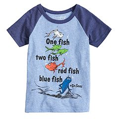 Boys 4-10 Jumping Beans® Dr. Suess 'One Fish Two Fish' Raglan Graphic Tee