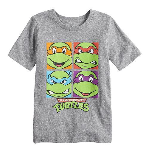 Boys 4-10 Jumping Beans® Teenage Mutant Ninja Turtles Grid Graphic Tee