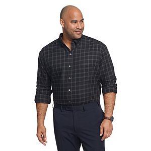 Big & Tall Van Heusen Classic-Fit Wrinkle-Free Button-Down Shirt