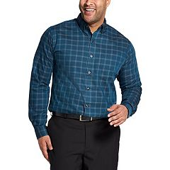 Big & Tall Van Heusen Classic-Fit Wrinkle-Free Button-Down Shirt