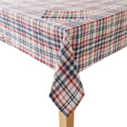 Celebrate Americana Together Plaid Tablecloth & Napkin Set