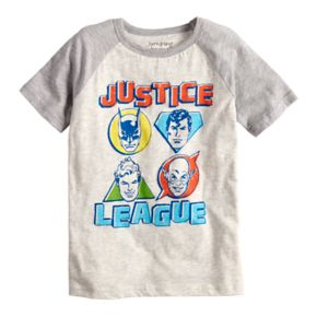 Boys 4-10 Jumping Beans® Justice League Raglan Graphic Tee
