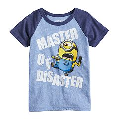 Boys 4-10 Jumping Beans® Minions 'Master Of Disaster' Graphic Tee