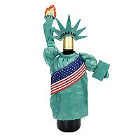 Celebrate Americana Together Statue of Liberty Wine Bottle Cover