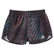 Girls 4-6x adidas Breakaway Printed Athletic Shorts with Briefs
