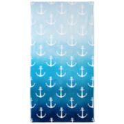 Destinations Ombre Anchor Bath Towel