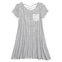 Girls 7-16 & Plus Size SO® Strappy Crisscross T-Shirt Dress