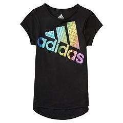 Girls 4-6x adidas Colors Ignite Logo Tee