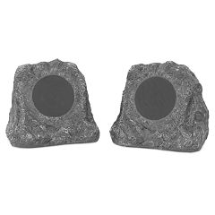 Innovative Technology Natural Outdoor Rock Speaker Set