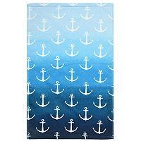 Destinations Ombre Anchor Hand Towel