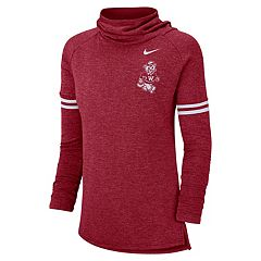 Women's Nike Washington State Cougars Funnel Neck Tee