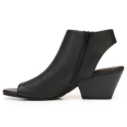 NaturalSoul by naturalizer Daph Women's Peep Toe Boots