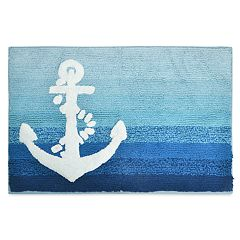 Destinations Ombre Anchor Bath Rug