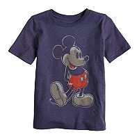 Disney's Mickey Mouse Boys 4-10 Worn Mickey Graphic Tee by Jumping Beans®