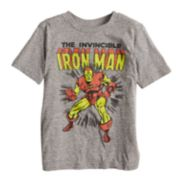 "Boys 4-10 Jumping Beans® ""The Invincible Iron Man"" Graphic Tee"