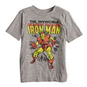 Boys 4-10 Jumping Beans® 'The Invincible Iron Man' Graphic Tee