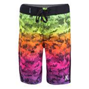 Boys 4-7 Hurley Micro Camo Abstract Board Shorts