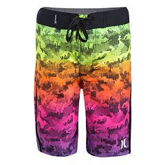 Boys 4-7 Hurley Micro Camo Abstract Board Shorts