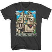 Boys 8-20 Minecraft Llama Tee