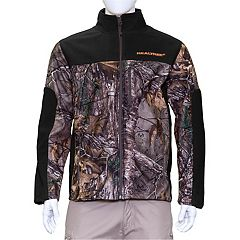 Men's Earthletics Camo Colorblock Bonded Microfleece Jacket