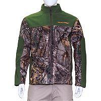 Men's Earthletics Camo Colorblock Bonded Microfleece Jacket