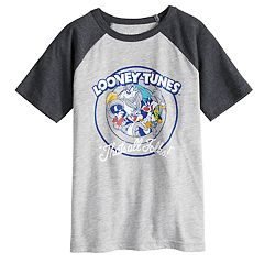 Boys 4-10 Jumping Beans® Looney Tunes 'That's All Folks' Raglan Graphic Tee