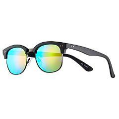 Men's Club Master Blue Lense Sunglasses