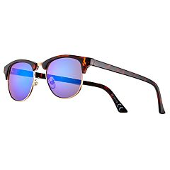 Men's Club Master Blue Lense Sunglasses