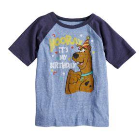 Boys 4-10 Jumping Beans® Scooby-Doo Birthday Raglan Graphic Tee