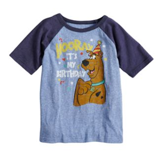 Boys 4-10 Jumping Beans® Scooby-Doo Birthday Raglan Graphic Tee