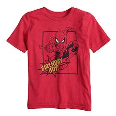 Boys 4-10 Jumping Beans® Marvel Spider-Man 'Birthday Boy' Graphic Tee