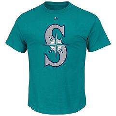 Men's Majestic Seattle Mariners Official Logo Tee