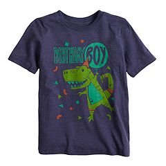 Boys 4-10 Jumping Beans® Dinosaur 'Birthday Boy' Graphic Tee