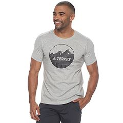 Men's adidas  Badge Terrex Climalite Logo Tee