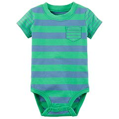 Baby Boy Carter's Striped Pocket Bodysuit
