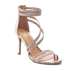 Candie's® Lima Metallic Women's Heels