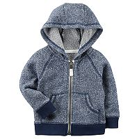 Baby Boy Carter's Marled Zip Cardigan