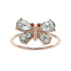 LC Lauren Conrad Butterfly Ring
