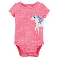 Baby Girl Carter's Applique Bodysuit