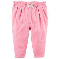 Baby Girl Carter's Gathered Waist Pants
