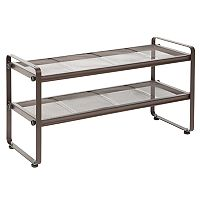 Richards 2 tier Mesh Shoe Storage Rack