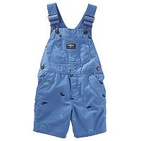 Toddler Boy OshKosh B'gosh® Embroidered Shortalls