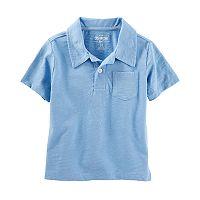 Toddler Boy OshKosh B'gosh® Solid Polo