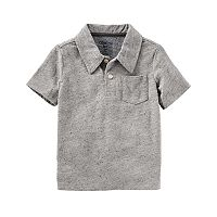 Toddler Boy OshKosh B'gosh® Solid Polo