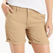 Women's Levi's Classic Chino Boyfriend Shorts