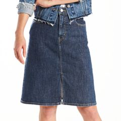 Women's Levi's Midi Jean Skirt