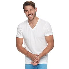 Men's Reebok 5-pack V-Neck Tees