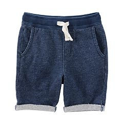 Toddler Boy OshKosh B'gosh® Rolled Cuff Knit Shorts