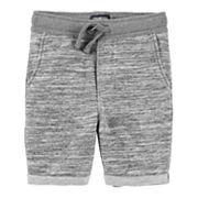 Toddler Boy OshKosh B'gosh® Rolled Cuff Knit Shorts